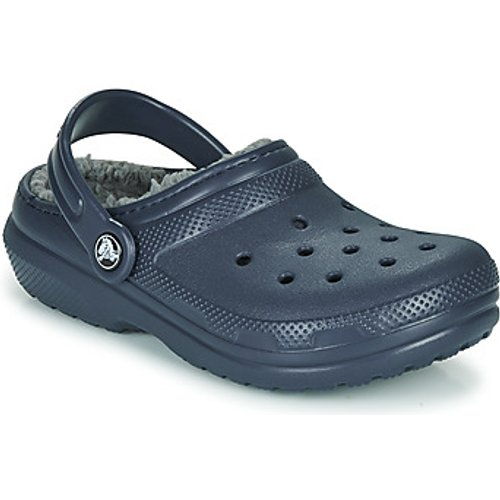 Crocs  Classic Lined Clog K  Girls's Children's Clogs (shoes) In Blue. Sizes Available:6 T, Blue