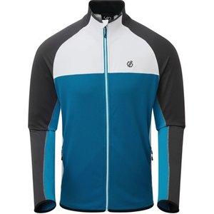 Dare 2b  Riform Ii Lightweight Base Jacket Black Ebony Grey Blue  Men's Sweatshirt In Blue, Blue