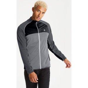 Dare 2b  Riform Ii Lightweight Base Jacket Black Ebony Grey Grey  Men's Sweatshirt In Grey, Grey