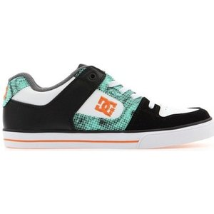 Dc Shoes  Dc Pure Elastic Adbs300148-xkwb  Women's Shoes (trainers) In Black. Sizes Availa, Black