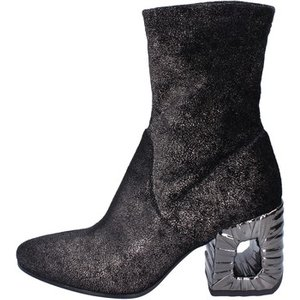 Elena Iachi  Ankle Boots Textile  Women's Low Ankle Boots In Black. Sizes Available:2,6, Black