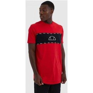 Ellesse  Sesia Tee She08570  Men's T Shirt In Red. Sizes Available:eu M,eu L,eu Xl, Red