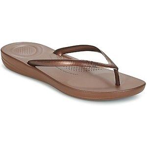 Fitflop  Iqushion Ergonomic Flip Flops  Women's Flip Flops / Sandals (shoes) In Brown. Siz, Brown