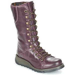 Fly London  Ster  Women's High Boots In Purple. Sizes Available:3, Purple