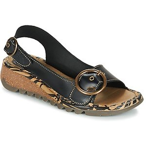 Fly London  Tramfly  Women's Sandals In Black. Sizes Available:3,4,5,8, Black