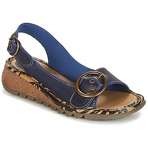 Fly London  Tramfly  Women's Sandals In Blue. Sizes Available:3,4,5, Blue