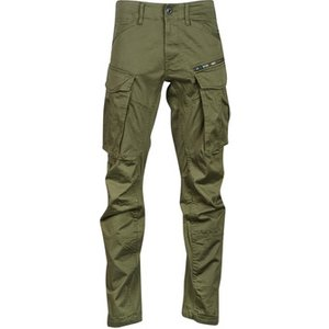 G-star Raw  Rovic Zip 3d Straight Tapered  Men's Trousers In Kaki. Sizes Available:us 34 /, Kaki