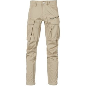 G-star Raw  Rovic Zip 3d Straight Tapered  Men's Trousers In Beige. Sizes Available:us 34 , Beige