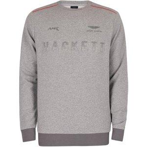 Hackett  Amr Sweatshirt  Men's Sweater In Grey. Sizes Available:uk S,uk M,uk L,uk Xl,uk Xx, Grey
