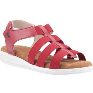 Hush Puppies  Hpw1000-117-3-3 Hailey  Women's Sandals In Red. Sizes Available:3,4,5,6,7,8, Red