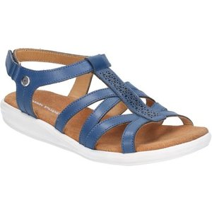 Hush Puppies  Hpw1000-38-3 Callie  Women's Sandals In Blue. Sizes Available:4,5,6,7,8, Blue