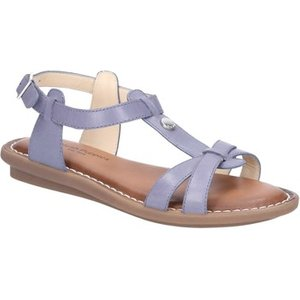 Hush Puppies  Hw06533-428-3 Olive Tstrap  Women's Sandals In Blue. Sizes Available:7,8, Blue