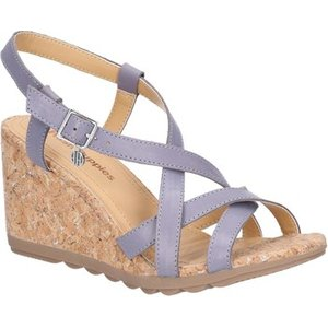 Hush Puppies  Hw06563-428-3 Pekingese Strappy  Women's Sandals In Blue. Sizes Available:5,, Blue