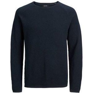 Jack   Jones  Jersey  Ehill 12157321  Men's Sweatshirt In Blue. Sizes Available:eu S,eu L, Blue