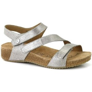 Josef Seibel  Tonga 25 Womens Leather Sandals  Women's Sandals In Silver. Sizes Available:, Silver