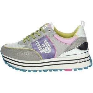 Liu Jo  Maxi Wonder  Women's Shoes (trainers) In Purple. Sizes Available:3,4,5,6,7, Purple