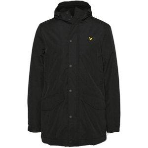 Lyle   Scott  Technical Parka Jacket  Men's Parka In Black. Sizes Available:uk S,uk M,uk L, Black
