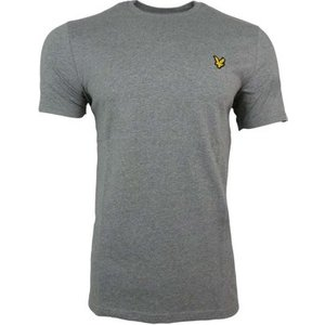 Lyle And Scott Vintage  Ss Crew T-shirt  Men's T Shirt In Grey. Sizes Available:uk M,uk Xx, Grey