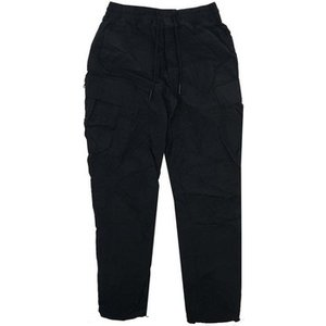 Marshall Artist  Cotton Polyamide Cargo Pant  Men's Trousers In Black. Sizes Available:uk , Black