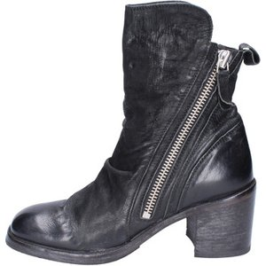 Moma  Ankle Boots Leather  Women's Low Ankle Boots In Black. Sizes Available:4.5, Black