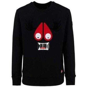 Moose Knuckles  Mk8210ms_292black  Men's Sweater In Black. Sizes Available:uk M,uk Xl, Black