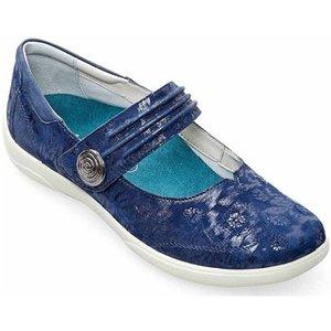 Padders  Poem Womens Mary Jane Shoes  Women's Shoes (pumps / Ballerinas) In Blue. Sizes Av, Blue