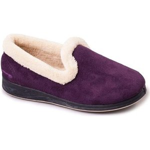 Padders  Repose Womens Fully Lined Slippers  Women's Slippers In Purple. Sizes Available:3, Purple