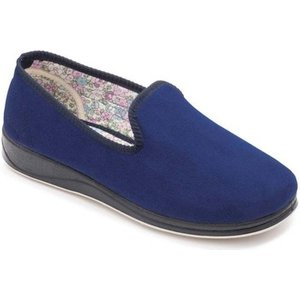 Padders  Repose Womens Fully Lined Slippers  Women's Slippers In Blue. Sizes Available:4,8, Blue
