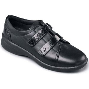 Padders  Revive 2 Womens Casual Rip Tape Shoes  Women's Shoes (trainers) In Black. Sizes A, Black