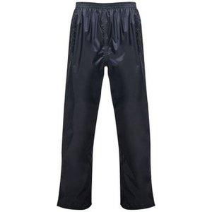 Professional  Pro Packaway Waterproof Shell Trousers Fluro Yellow Blue  Women's  In Blue. , Blue