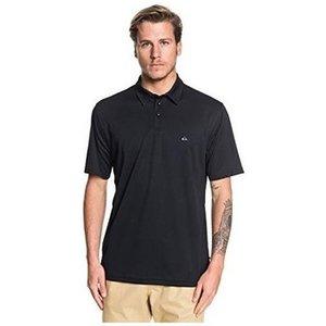 Quiksilver  Waterman Water Eqmkt03046  Men's Polo Shirt In Black. Sizes Available:eu S,eu , Black