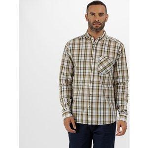 Regatta  Bacchus Coolweave Long Sleeve Shirt Oxford Blue Green  Men's Long Sleeved Shirt I, Green
