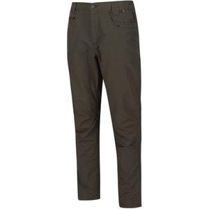 Regatta  Delgado Coolweave Cotton Trousers Seal Grey Green  Men's Trousers In Green. Sizes, Green