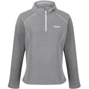 Regatta  Kenger Half Zip Honeycomb Fleece Petrol Blue Grey  Women's Fleece Jacket In Grey., Grey