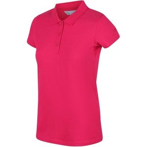 Regatta  Sinton Tshirt Red Sky Pink  Women's Polo Shirt In Pink. Sizes Available:uk 10,uk , Pink