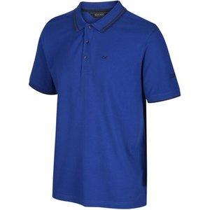 Regatta  Talcott Ii Tshirt Oxford Blue Blue  Men's Polo Shirt In Blue. Sizes Available:uk , Blue