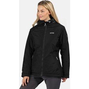 Regatta  Voltera Black Black  Women's Coat In Black. Sizes Available:uk 10,uk 12,uk 14,uk , Black