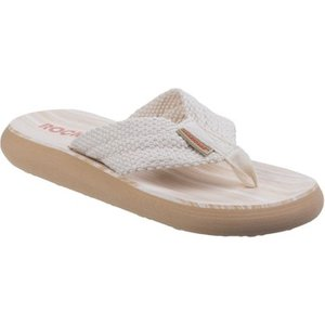 Rocket Dog  Sunset  Women's Flip Flops / Sandals (shoes) In White. Sizes Available:4,5,7, White