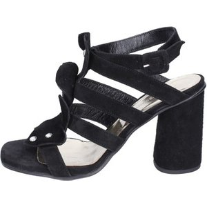 Sergio Cimadamore  Sandals Suede  Women's Sandals In Black. Sizes Available:2,3,4,5,6,7, Black