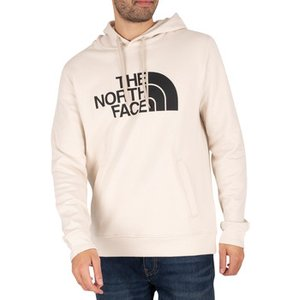 The North Face  Half Dome Pullover Hoodie  Men's Sweatshirt In White. Sizes Available:uk X, White