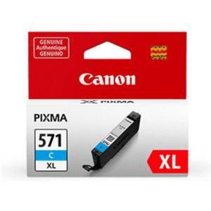 Canon Cli-571cxl Cyan High Capacity Ink Cartridge (original) 0332c001 Printer Consumables