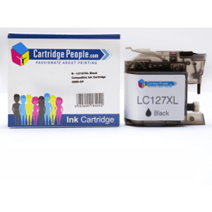 Compatible Brother Lc127xlbk High Capacity Black Ink Cartridge (own Brand) Printer Consumables
