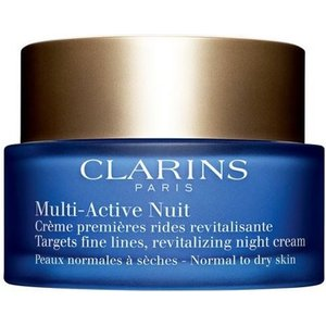 Clarins Multi-active Night Cream For Normal To Dry Skin 50ml