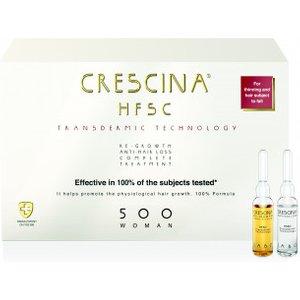 Crescina Transdermic Technology Complete Treatment 500 Woman 40amp. (20+20)
