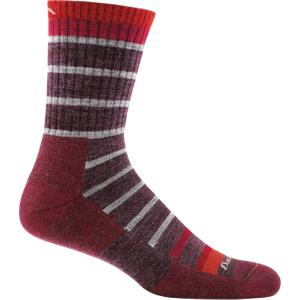 Darn Tough Via Ferrata Micro Crew Cushion Sock Style 1951 Maroon M