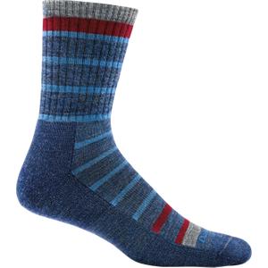 Darn Tough Via Ferrata Micro Crew Cushion Socks Blue - Medium