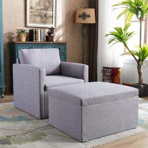 Modern Fabric Sofa Leisure Chairs Single Sofa Wf195718baa Furniture