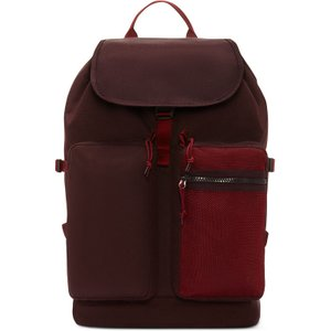 Cons Backpack Black Currant/team Red Converse Uk 10019892 A03, Black Currant/Team Red