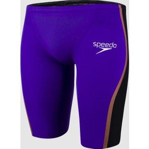 Speedo Men's Fastskin Lzr Pure Intent High Waist Jammer Violet Violet/black/rose Gold 8119779190 28, Violet/Black/Rose Gold