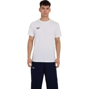 Speedo Unisex Team Crew Neck T-shirt White 8104330003 M, White